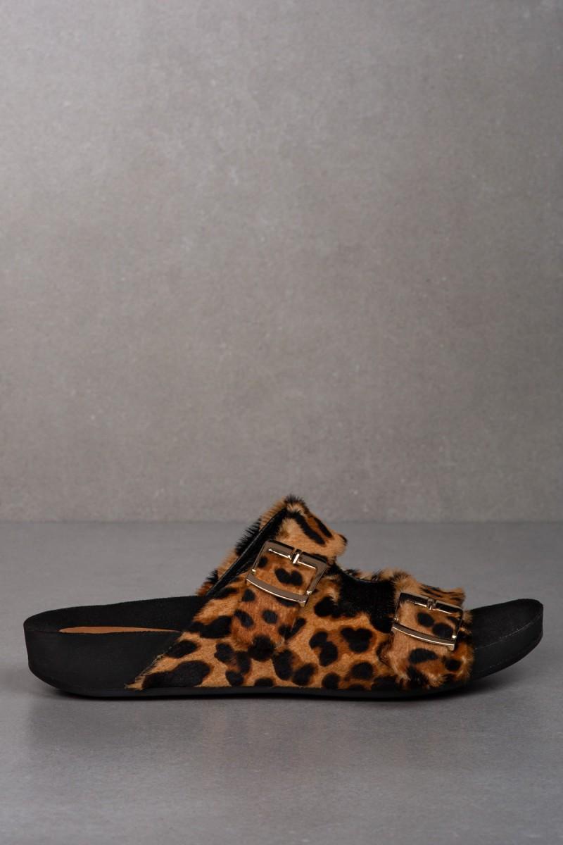 CERES fussbett leopard-print sandals