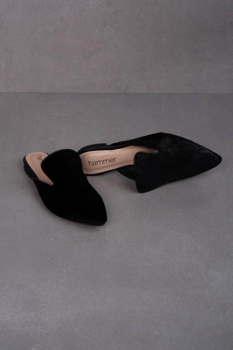 TEJA mules black