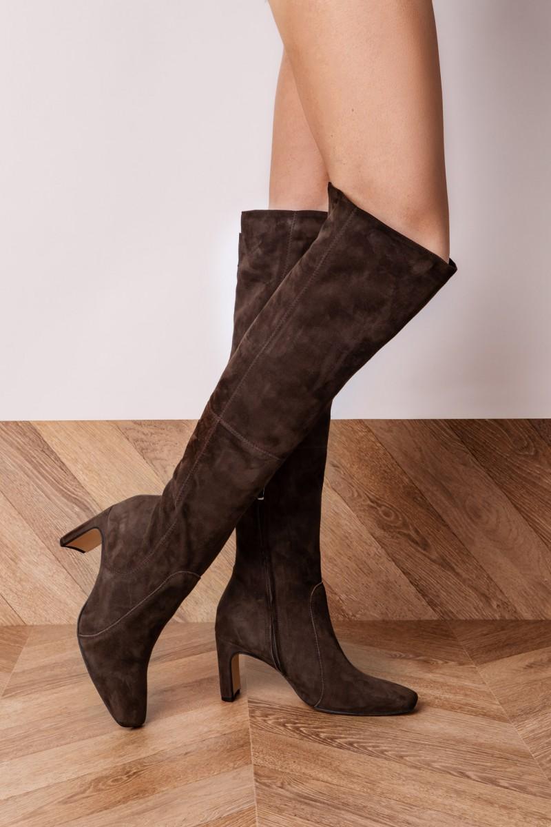 CARACAS boots brown suede