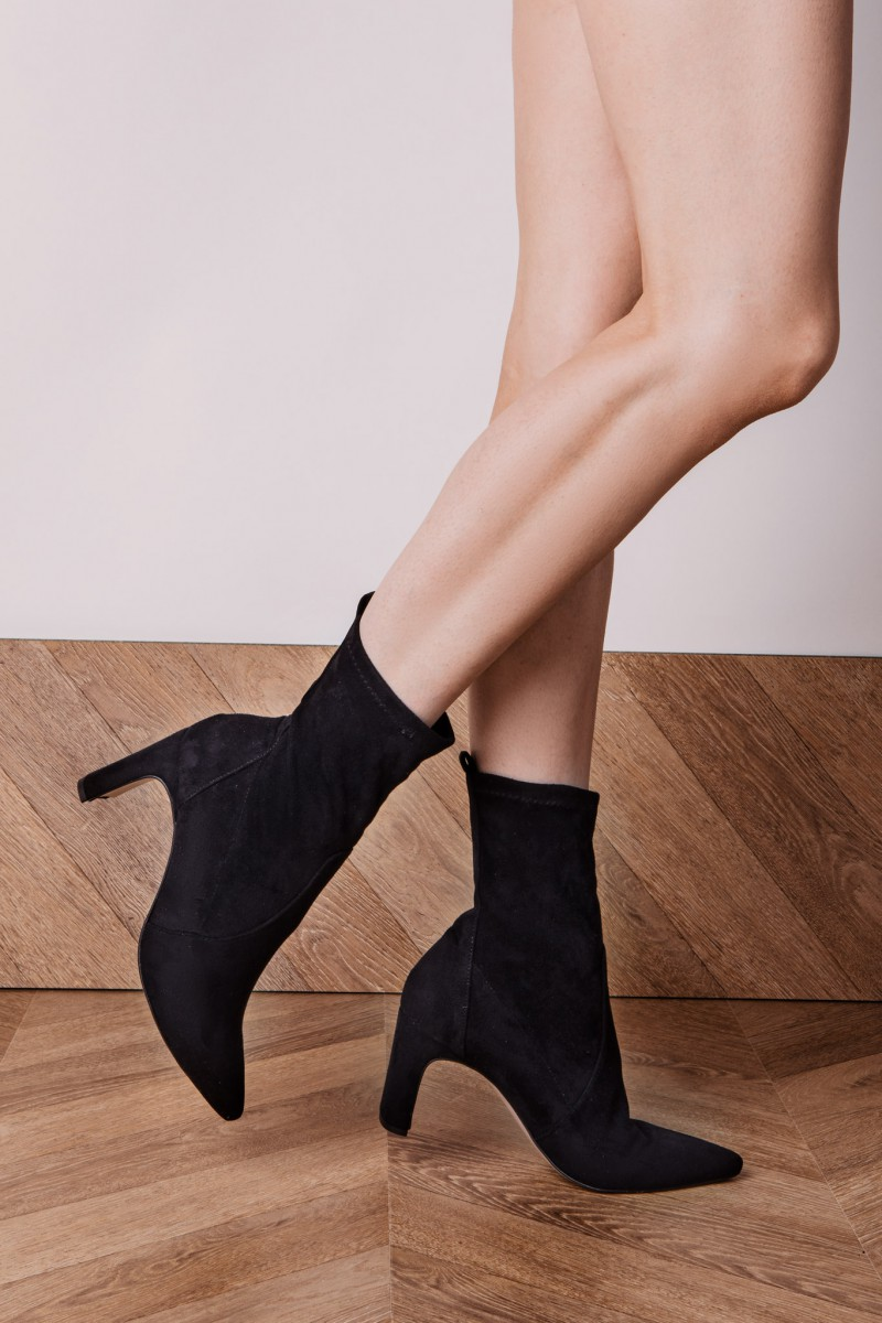 DIONE II black ankle boots stretch